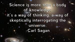 Carl Sagan science quote